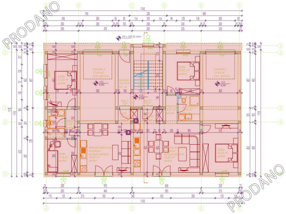 Izgradnja stanova Biograd - Prizemlje prodano