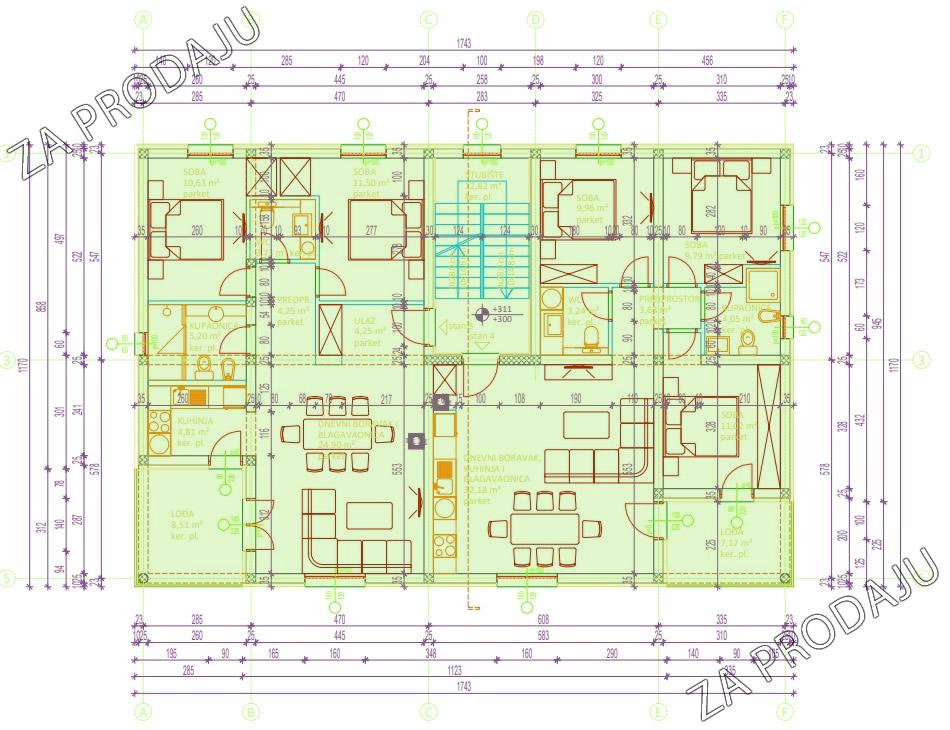 Izgradnja stanova Biograd - Prvi kat slobodno