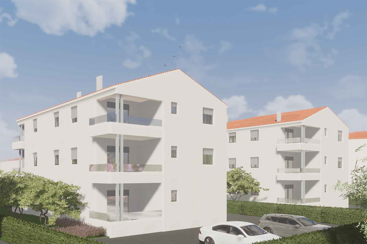 Izgradnja stanova Biograd - 3D