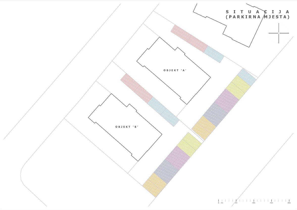 Izgradnja stanova Biograd - Situacija